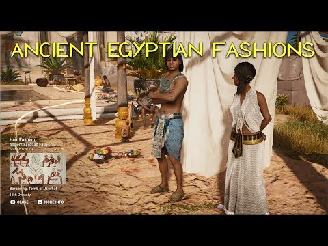 Daily Life - Ancient Egyptian Fashions