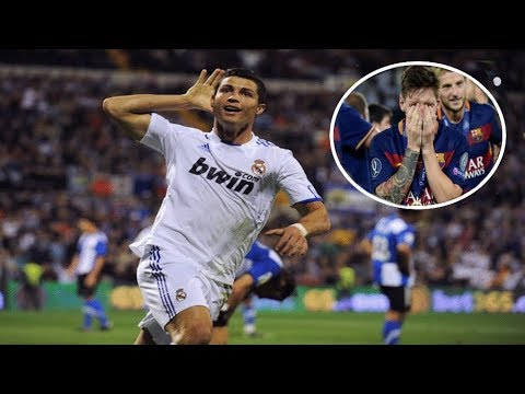 10 Times Cristiano Ronaldo SILENCED 'Messi' Chants |HD|