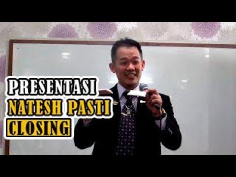 CARA PRESENTASI NATESH PASTI CLOSING & REPEAT ORDER