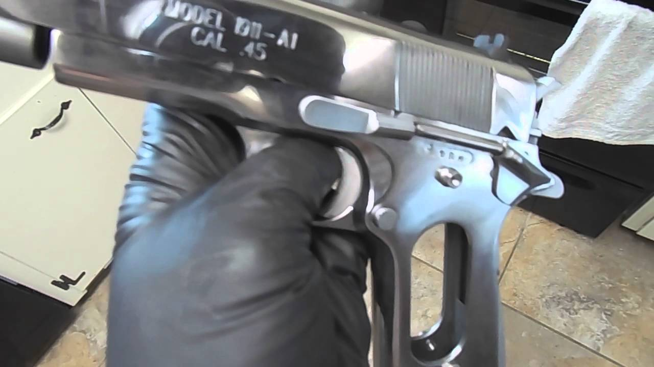 1911 Polishing,Slide and Frame Polishing,Lower Polishing, Gun ...