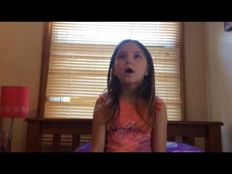 9 year old Alivia singing Scars to Your Beautiful by: Alessia Cara