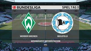Sv werder bremen gegen arminia bielefeld am 3. spieltag der neuen bundesliga saison 2020/21. ► unterstützt mich: https://www.tipeeestream.com/tpzyt/donationj...