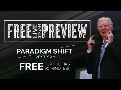 Paradigm Shift LIVE Stream - FREE 90 Minute Preview