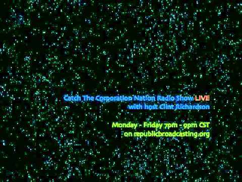 Corporation Nation Radio Show #47 - Lieber Code & Military Occupation - December 18, 2013
