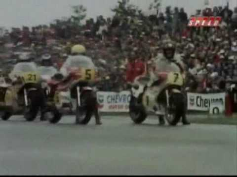 Motorcycle Racing: Dutch TT 1977 500cc - Wil Hartog wins Dutch Grandprix