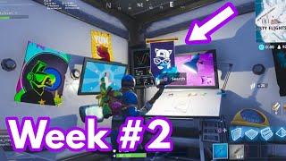Fortnite Week 2 Secret Battle Star *LOCATION* (Season 7)