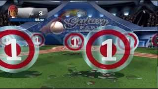 Pitcher Perfect minigame Kinect Sports Season Two Xbox 360 720P gameplay
