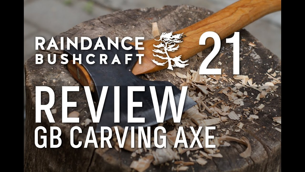 Episode 21: A cool Gransfors Bruks axe -- Gränsfors Bruk Large Carving Axe  Review