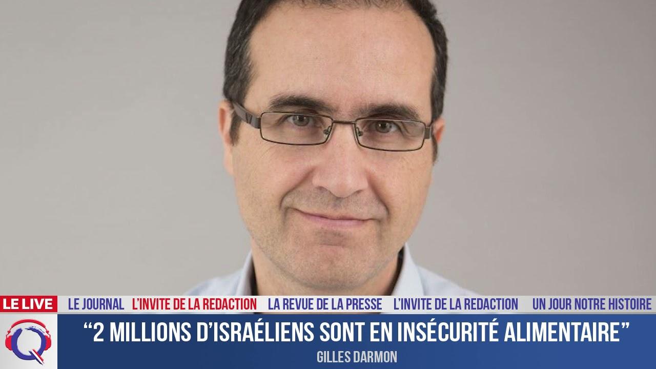 """""""2 millions d'Israéliens sont en insécurité alimentaire"""" -  L'invité du 23 septembre 2021"""