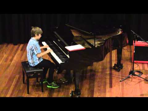 Max Burnett performs 'Elegy' and 'The brave knight'