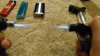 Vorstellung Feuerzeug Gas-Brennersammlung - Feuer Frei an Silvester