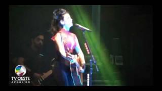Paula Fernandes - FINECAP - Pau dos Ferros - RN - 04.09.2011 - TV OESTE