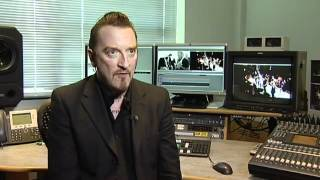 Ginger Wildheart on ITV Tyne Tees News 02/07/2012