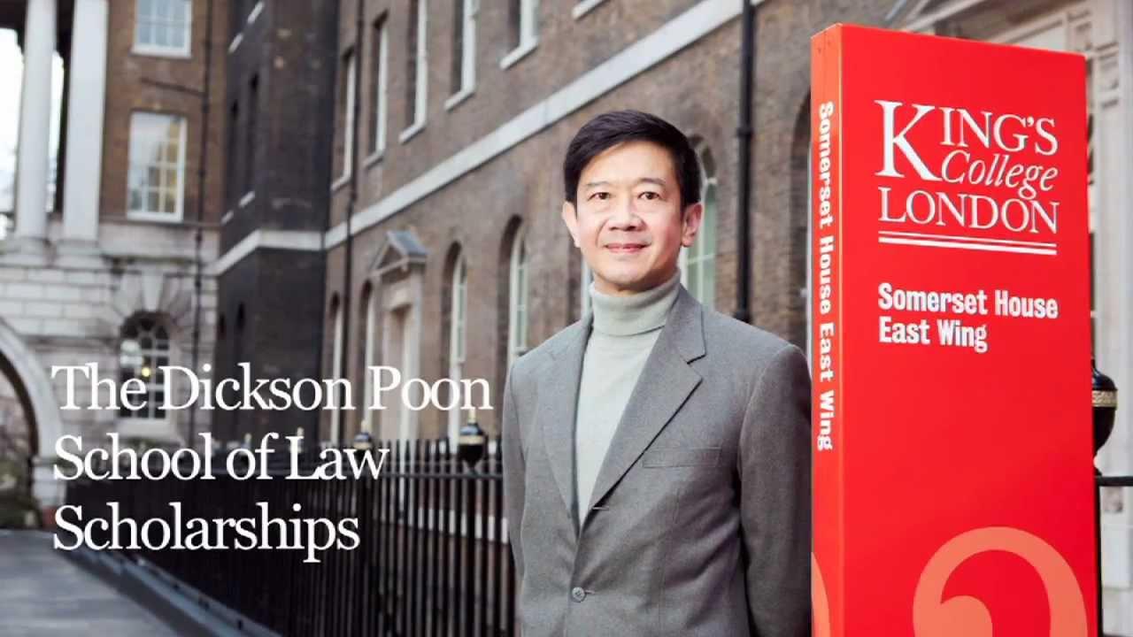 Dickson Poon LLB Scholarship