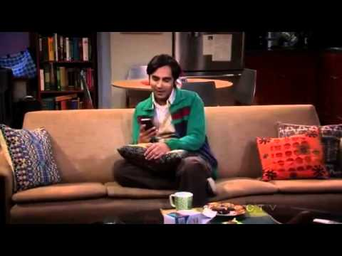 Raj vs. Siri: The Big Bang Theory