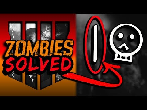NEW! HUGE ((SOLVE)) BO4 Zombies -What The VERTICAL LINE Means & MORE SOLVED ON TREYARCH IMAGE