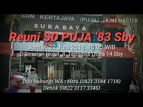 Sd Puja 83 Sby Undangan Reuni Youtube