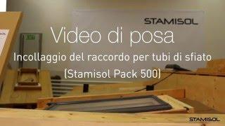 Video di posa Stamisol Pack 500: Incollaggio del raccordo per tubi di sfiato