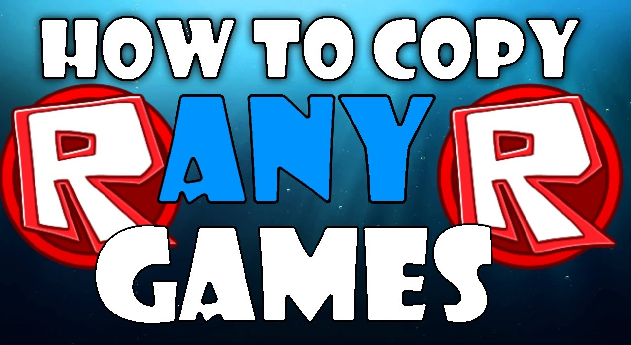 ROBLOX: How To Copy ANY GAMES! (COPY LOCKED)