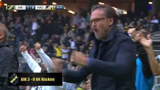 AIK - Svenska Mästare 2018 - Målen