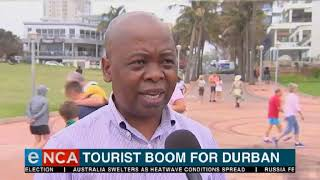 Tourists have already spent nearly R2.5 billion in Durban