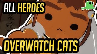 Overwatch but with Cats - ALL HEROES -