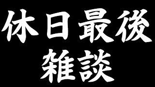 休日最後に雑談放送 NAL太郎チャンネル開設とか、今年の目標とか