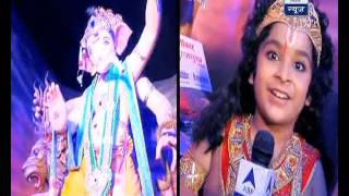 Bal hanuman visits bappa with SBS