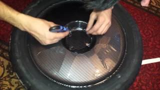 Оклейка дисков карбоном(, 2014-03-10T06:43:07.000Z)