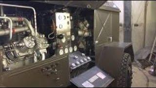 УРАЛЭНЕРГОКОМПРЕССОР бірінші іске қосу Күрделі Жөндеуден кейін компрессордың УКС 400В тұғырықтарда