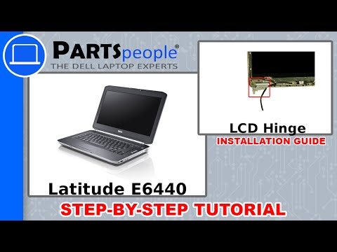Dell Latitude E6440 LCD Hinge How-To Video Tutorial