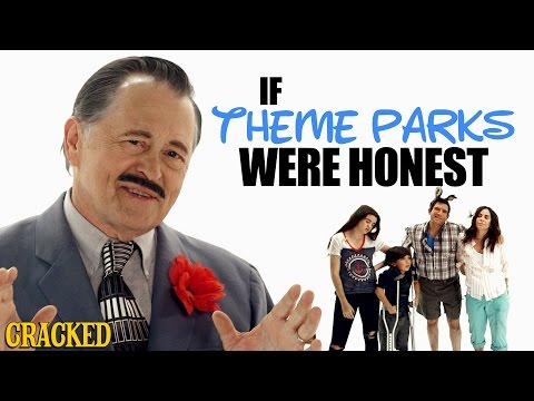If Theme Parks Were Honest - Honest Ads (Disneyland, Six Flags Parody)
