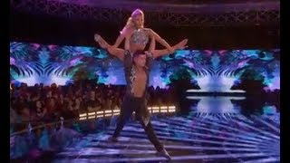 Karen y Ricardo WOD Qualifiers Full Performance - near perfect score!! Salsa Cabaret Couple