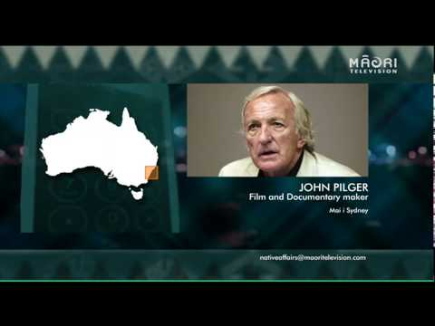 Native Affairs exclusive interview with John Pilger (1/9/14)