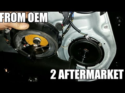 "Kia Sorento 10-14 Front Speaker Replacement ""how to"""