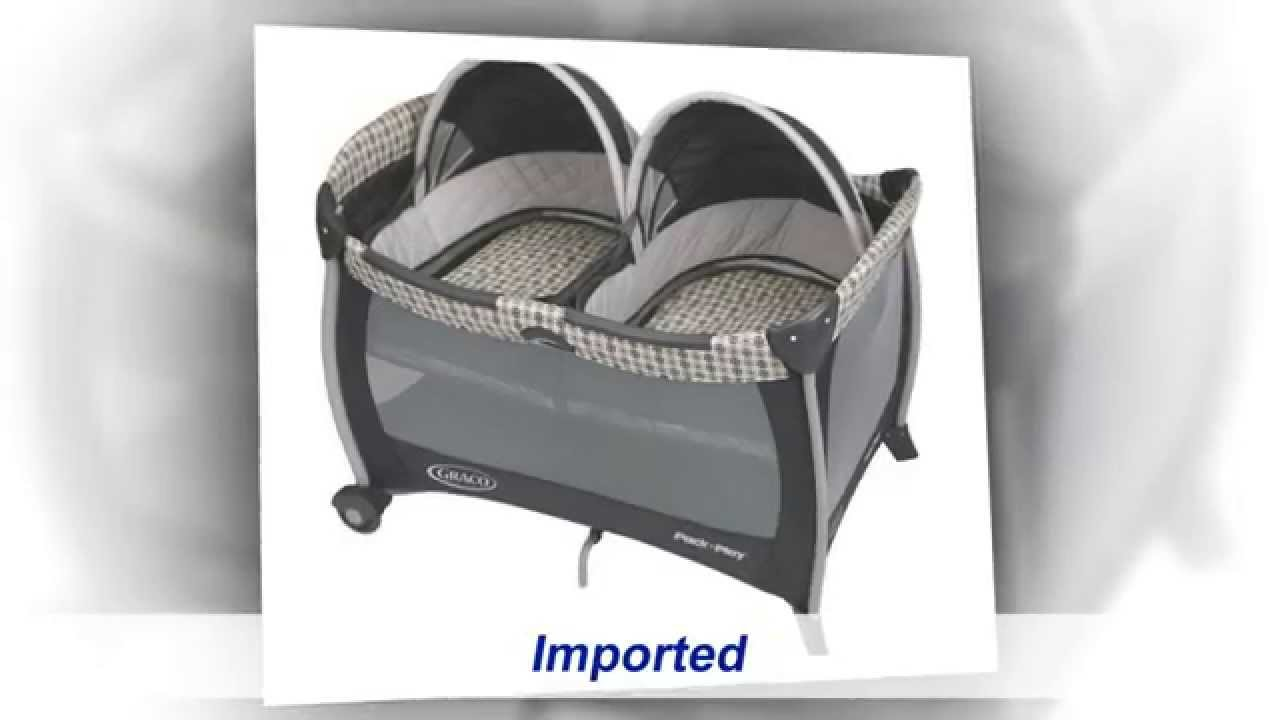 Graco Pack N Play With Twins Bassinet Youtube