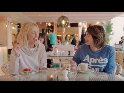 Karin & Jennie checkar ut från vardagen på Haymarket
