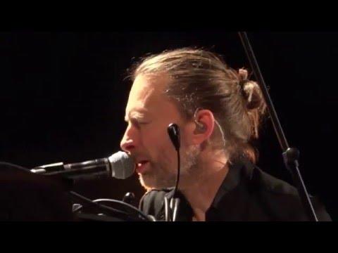 Thom Yorke live en Paris (Full) 4 de Diciembre, 2015