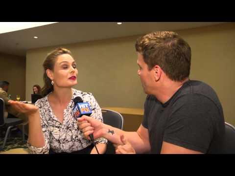 """Bones"" - David Boreanaz interviews Emily Deschanel"
