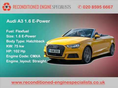 Audi Engines | Reconditioned Engines Specialists