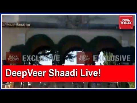Watch EXCLUSIVE VISUALS As Deepika-Ranveer Wedding Underway In Lake Como Villa | Live From Italy