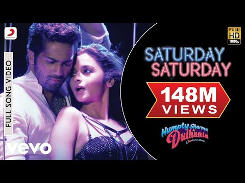 Mix - Saturday Saturday Video - Humpty Sharma Ki Dulhania | Varun Alia