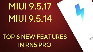 Miui 9.5.17.0 global update Top 6 new features in Redmi note 5 pro in Hindi| miui 9 new tricks