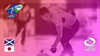 Scotland v Japan - Last 16 - World Mixed Doubles Curling Championship 2018