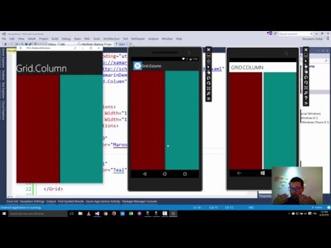 Xamarin Forms with Visual Studio Part 2 [Label, Button