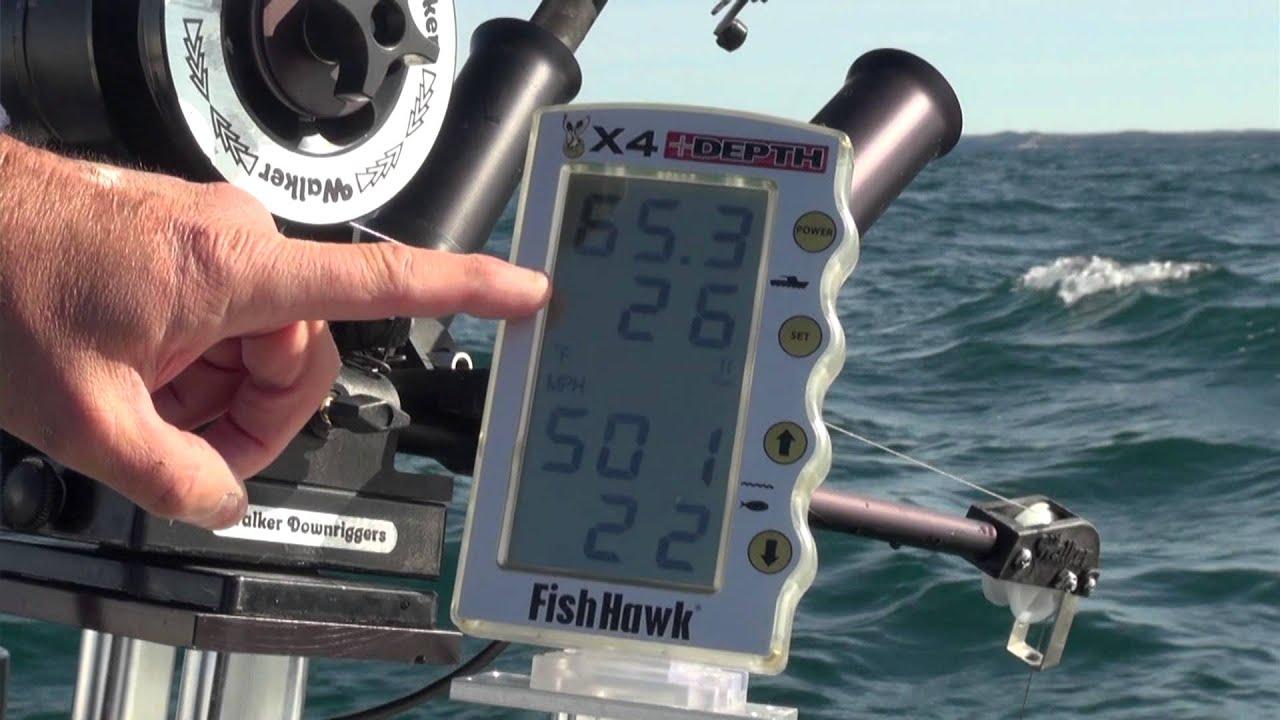 The 411 interpreting the fish hawk x4 depth youtube for Fish hawk x4
