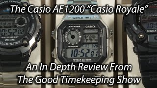 Casio Royale Watch In-Depth Review, The Good Timekeeping Show