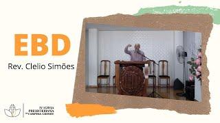 EBD -  Purificação | Rev. Clélio Simões  07/02/2021