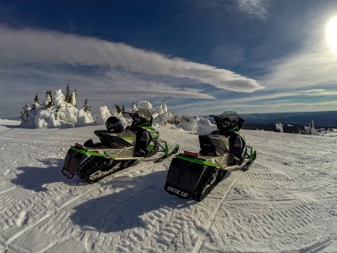 Two Top Mountain Snowmobiling - West Yellowstone