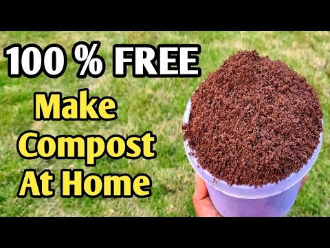 how to make compost at home in hindi
